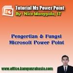 pengertian, microsoft, powerpoint, adalah, fungsi, sejarah