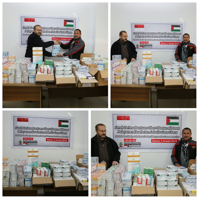 terjadi krisis obat dan meningkatnya penderita ISPA di jalur gaza palestina