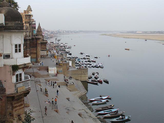 Le Gange et les ghâts