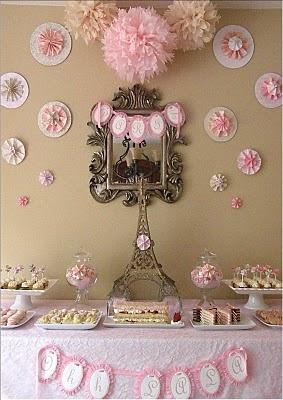 Fiestas infantiles cumplea os varios temas fiestas for Decoracion de cumpleanos rosa y dorado
