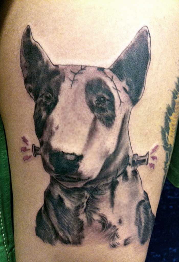 Tatto pictures of dog tattoos for Tattoo of my dog