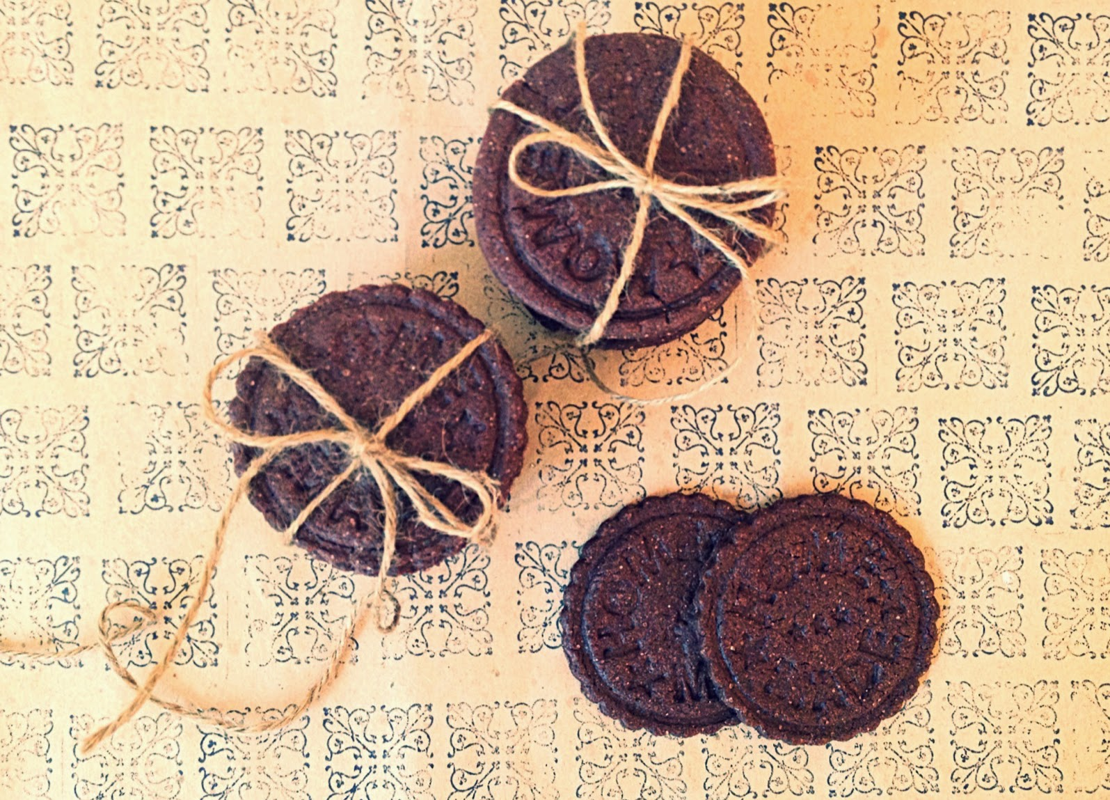 Cookies de chocolate con escamas de sal