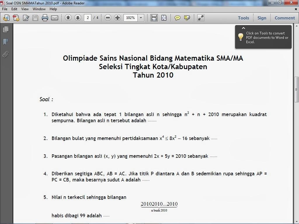 Download Soal Olimpiade Fisika