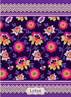 Jual Selimut Rosanna Vito Soft Blanket Lotus