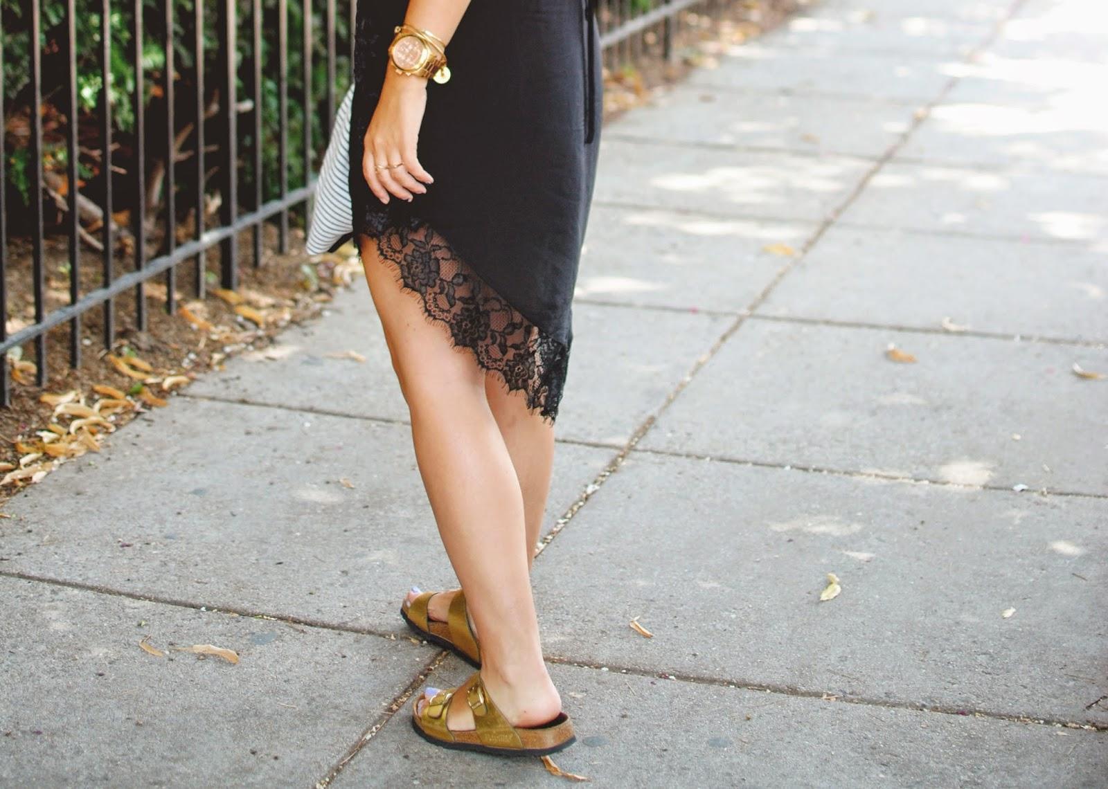 free people slip, slip dress, slip dress outfit, black slip, lace dress, dc style fashion blog, free people eyelashes slip review