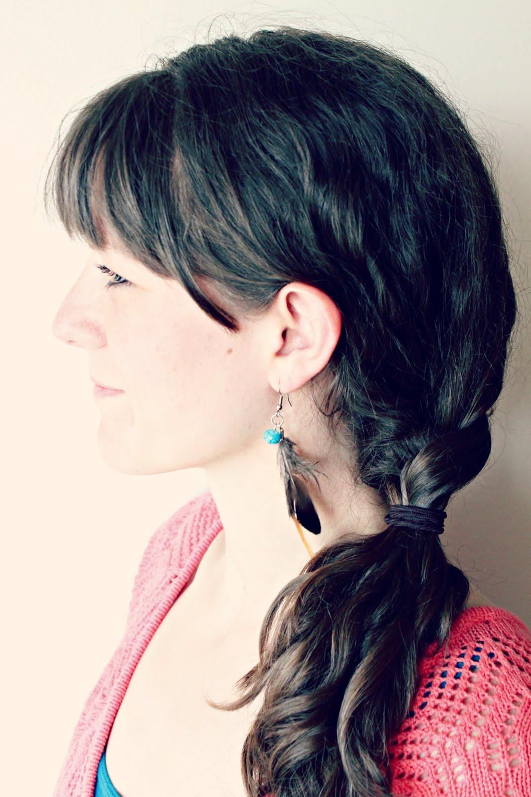 Easy Feather Earrings