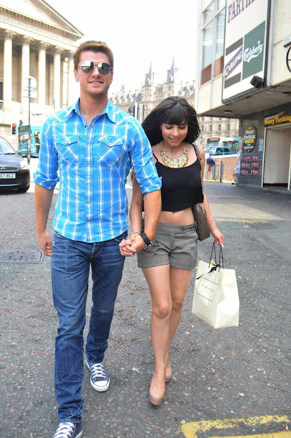 Roxanne Pallett Arriving at a London