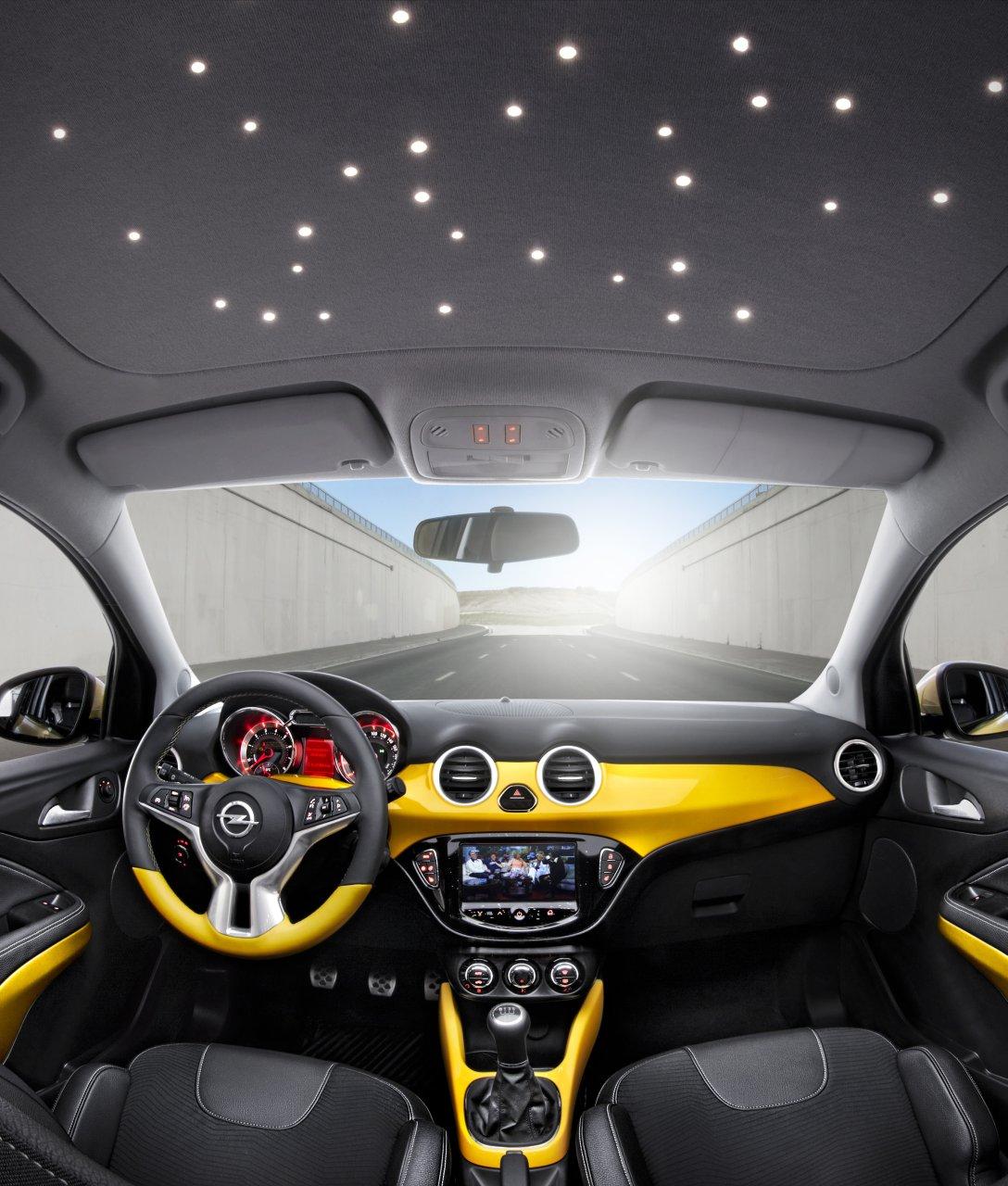 Opel Adam 2013 interior