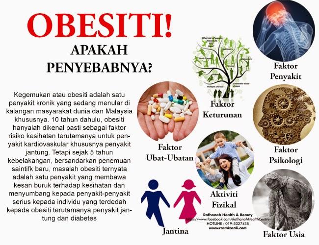 Punca Obesiti, Faktor Penyebab Obesiti
