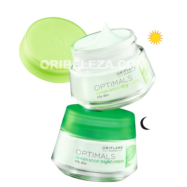 Optimals Oxygen Boost da Oriflame para a Pele Normal/Mista