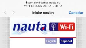 Portal Nauta de wifi Etecsa
