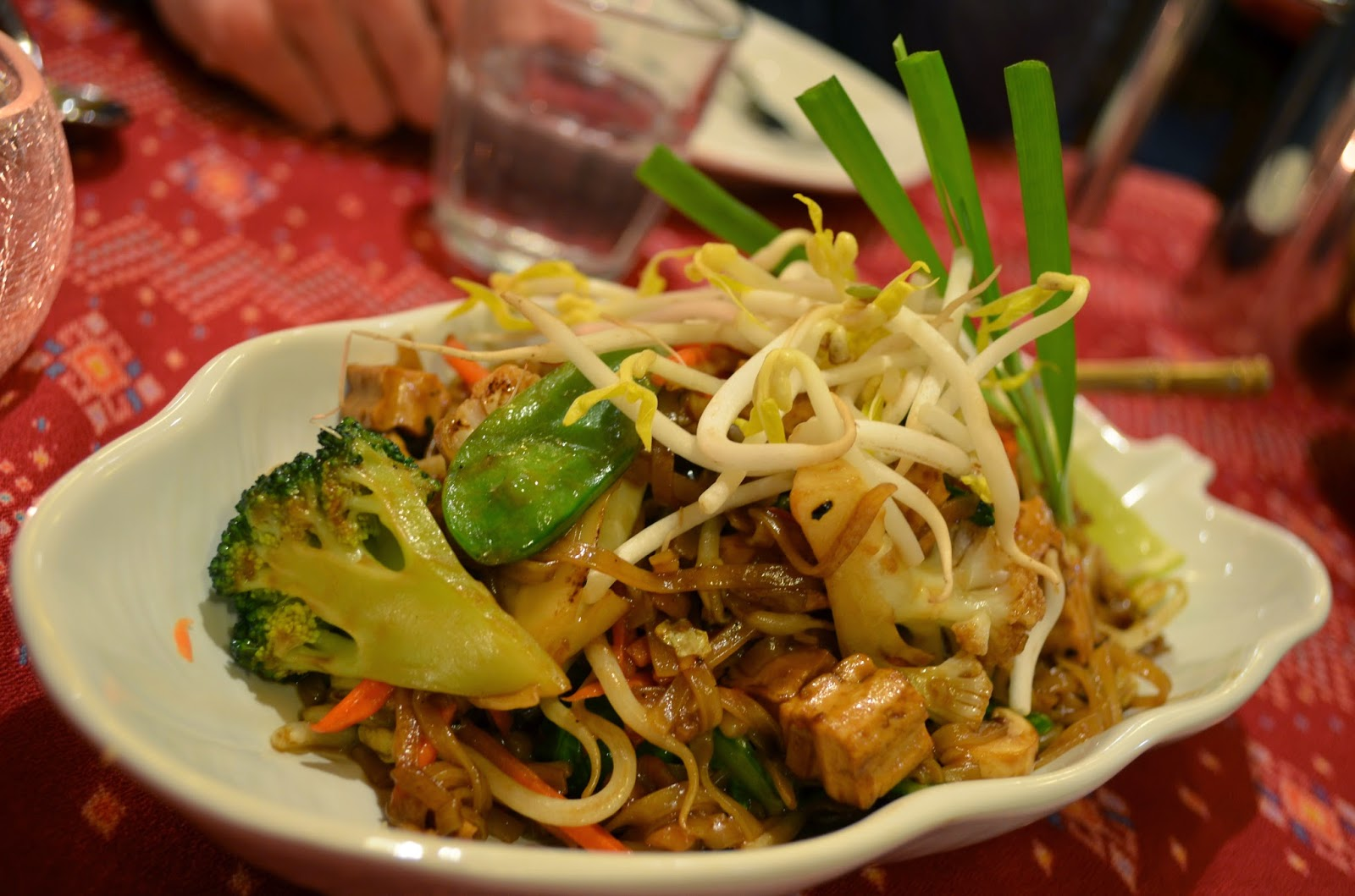 Tofu pad thai - no egg