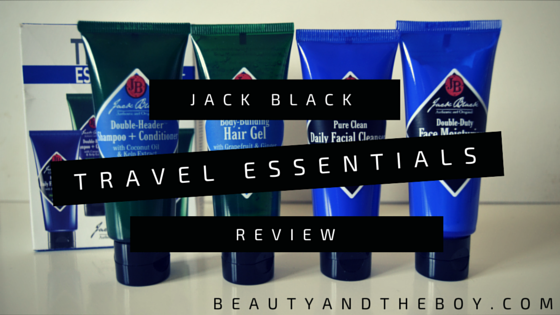 Jack Black Travel Essentials Review