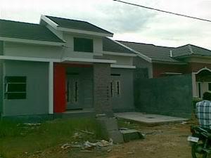 Perumahan Banjarbaru Tipe 70 Contoh Rumah Sudah Jadi Juga Sebagian Sudah Ditempati