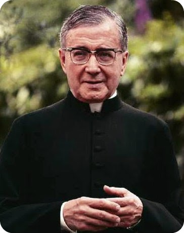 St. Josemaria Escriva, the Saint of the Ordinary, Pray for Us!