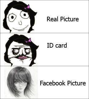 Girls' Real Picture, ID Card, Facebook Picture
