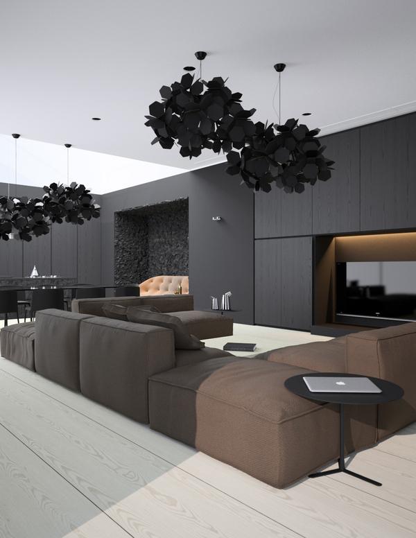 hogares frescos el minimalismo cumple patrones sobre