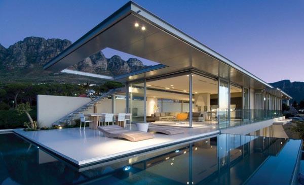 Droomhuis La House : Squared first crescent villa