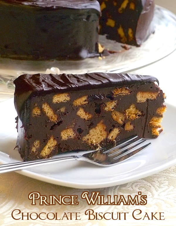 Prince William's Chocolate Biscuit Cake