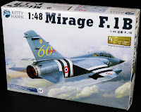 We review the 1/48th scale Mirage F.1B from KittyHawk