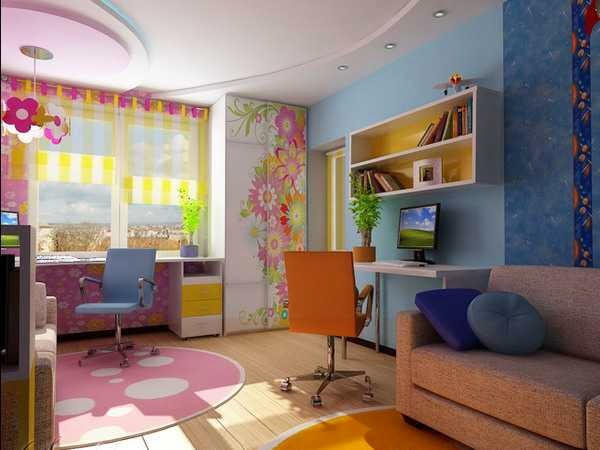 How To Design Your Homes With Less Budget,modify Your Kids Room With Low  Budget
