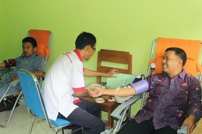 Kegiatan Rutin Donor Darah November 2014