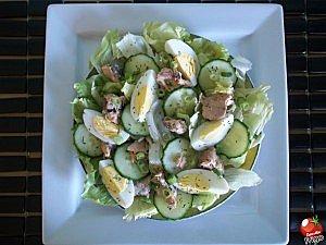 Dans mon frigo salade de saumon for 750g dans mon frigo