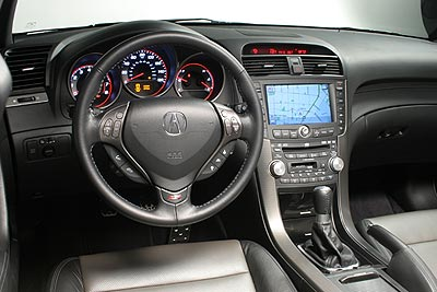 ACURA TL INTERIOR Great Pictures