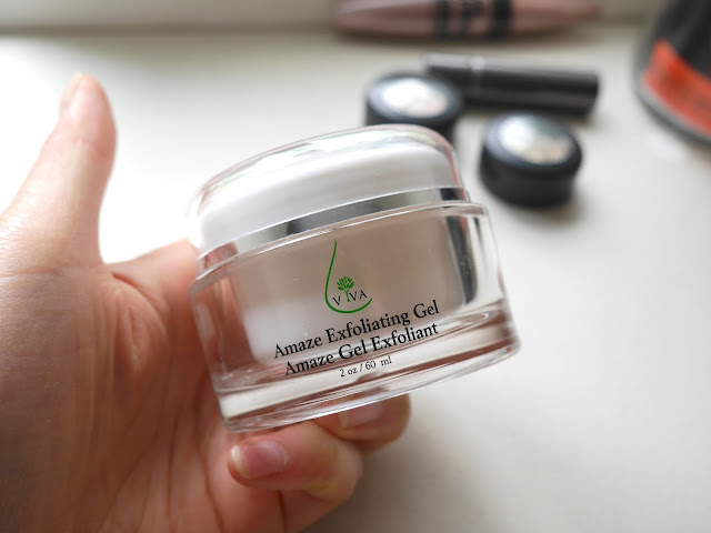 viva skincare amaze exfoliating gel review