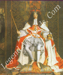 The portrait of Charles II by John Michael Wright, c.1661, shows the King bearing the new state crown, orb and sceptre made for his coronation. Although the crown no longer exists, the orb and sceptre have been used at every subsequent coronation, including the coronation of Her Majesty Queen Elizabeth II in 1953.