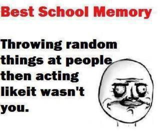 Best School Memory
