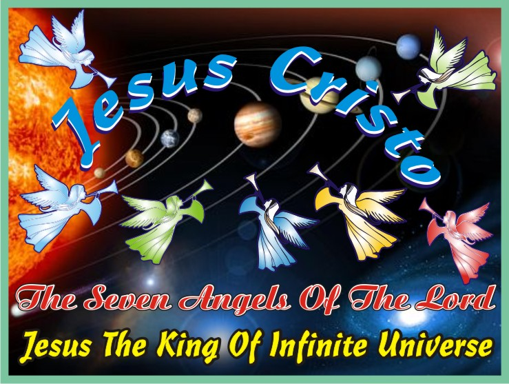 Jesus Christ And The Seven Angels Of The Lord
