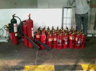 Refilling Tabung pemadam Kebakaran