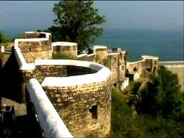 Ramkot Fort Location is in Paksitan near Jhelum Punjab 2013