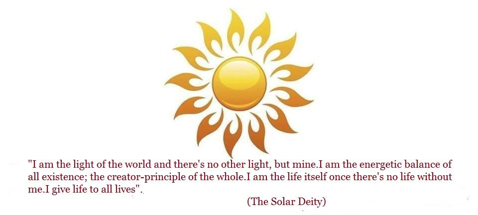 A Grandiosa Deidade Solar