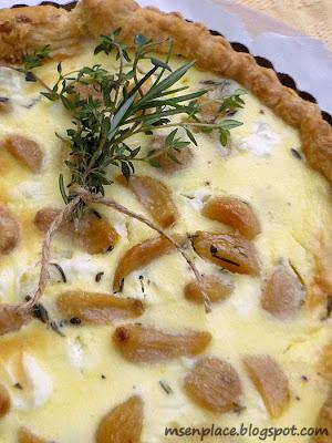 Ms. enPlace: Caramelized Garlic Tart