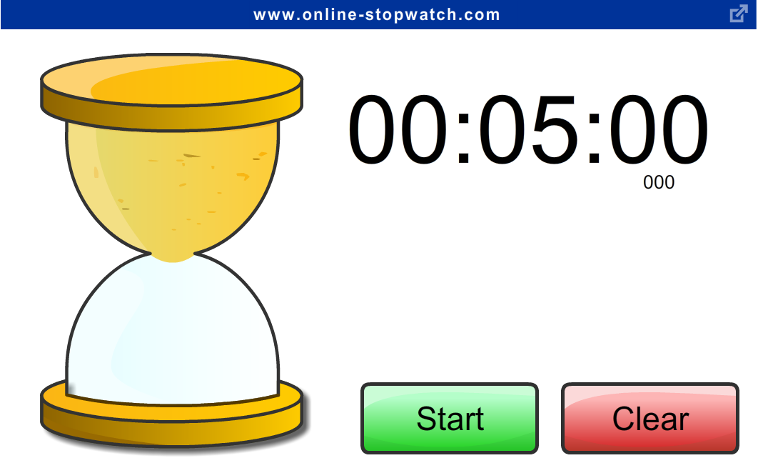 Enchanted with technology online classroom stopwatches and countdown