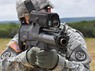The XM25 Individual Airburst Weapon System IAWS
