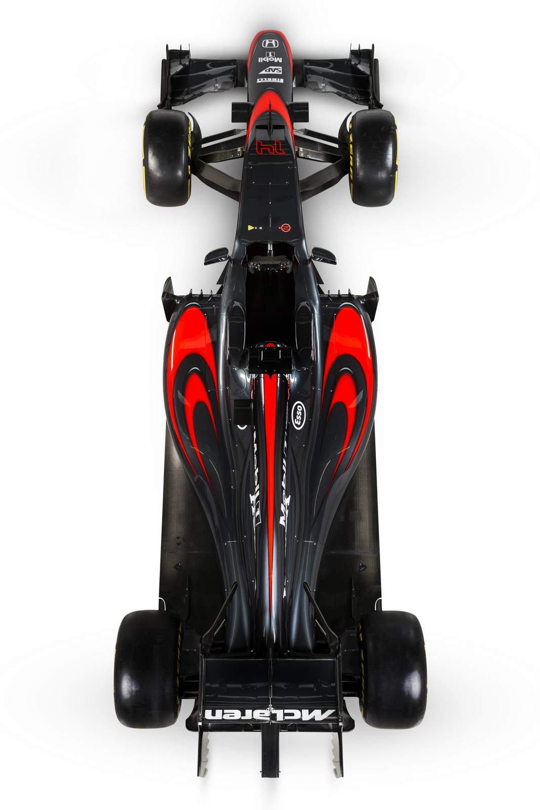 McLaren-Honda MP4-30 2015 Grey
