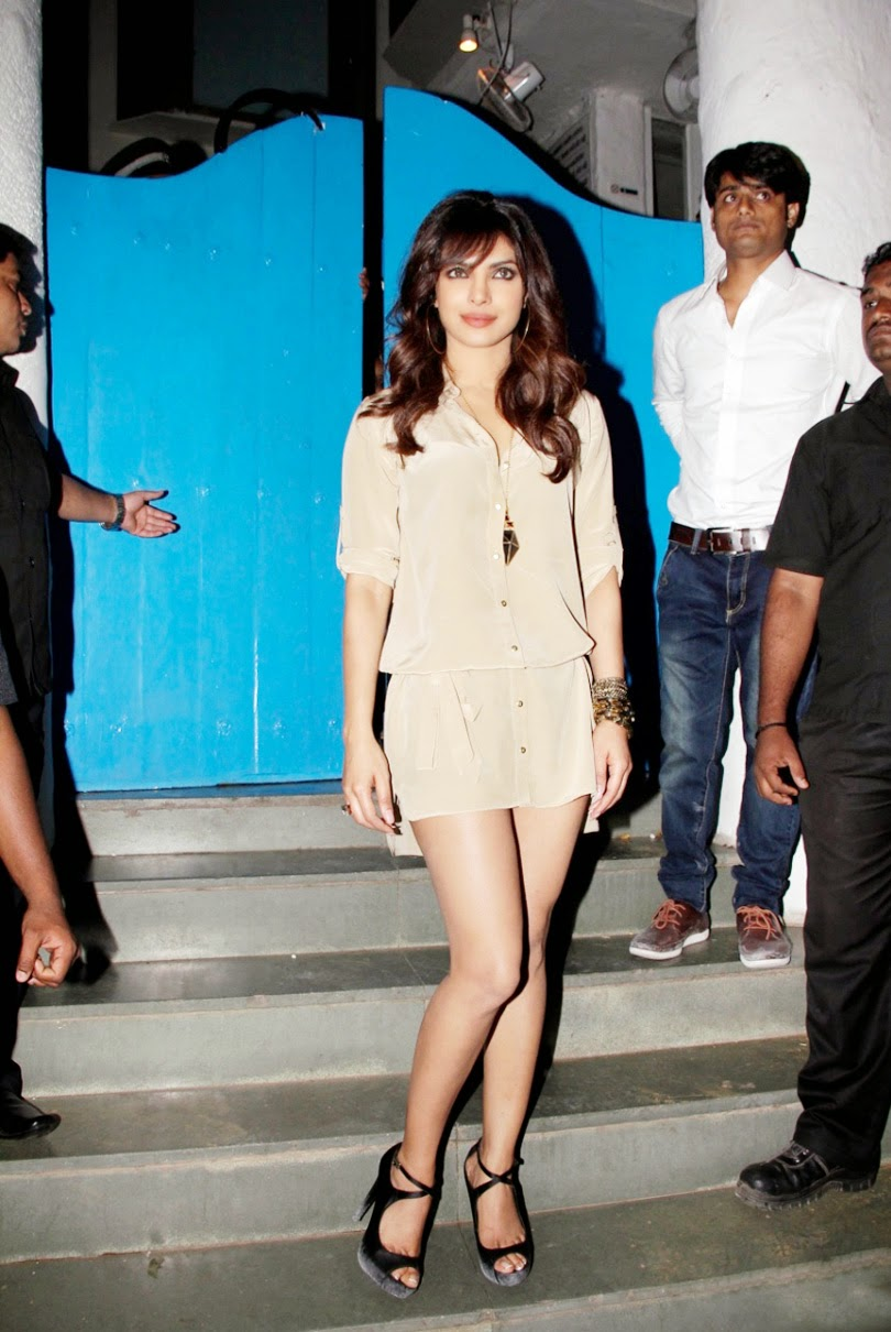 priyanka chopra latest hot milky legs hd pics transparent dress
