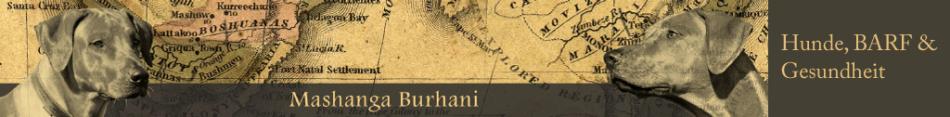 Mashanga Burhani: Hunde, BARF & Gesundheit
