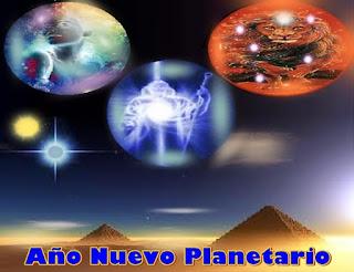 A finales de julio se celebra el Año Nuevo Planetario, porque muchas de las antiguas razas evaluaron y reconocieron en la Tierra a este momento, como el inicio de un importante nuevo ciclo evolutivo, por la confluencia de dos Soles.