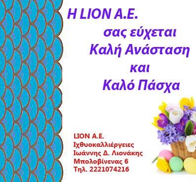 Ευχές από τη LION Α.Ε.