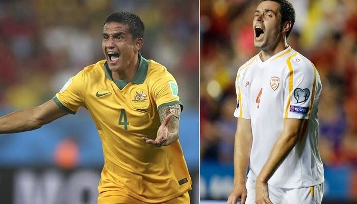 Macedonia vs Australia en vivo