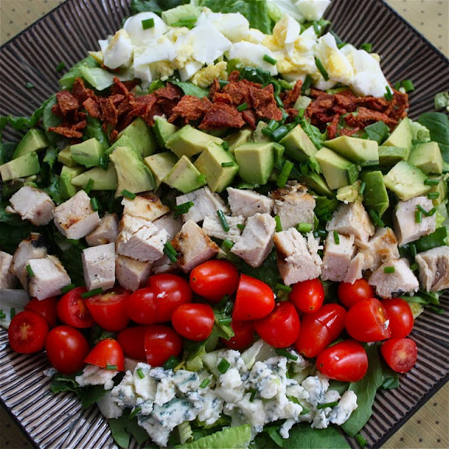 Classic Cobb Salad - Get Off Your Tush and Cook!