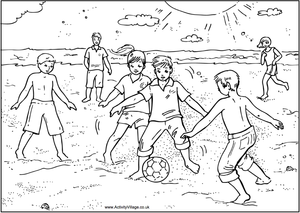 Colouring in pages activity village - Colouring Activity Village Http Www Activityvillage Co Uk Goalkeeper Girl Colouring Page
