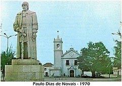 ILHA DE LUANDA- ESTÁTUA DE PAULO DIAS DE NOVAIS.