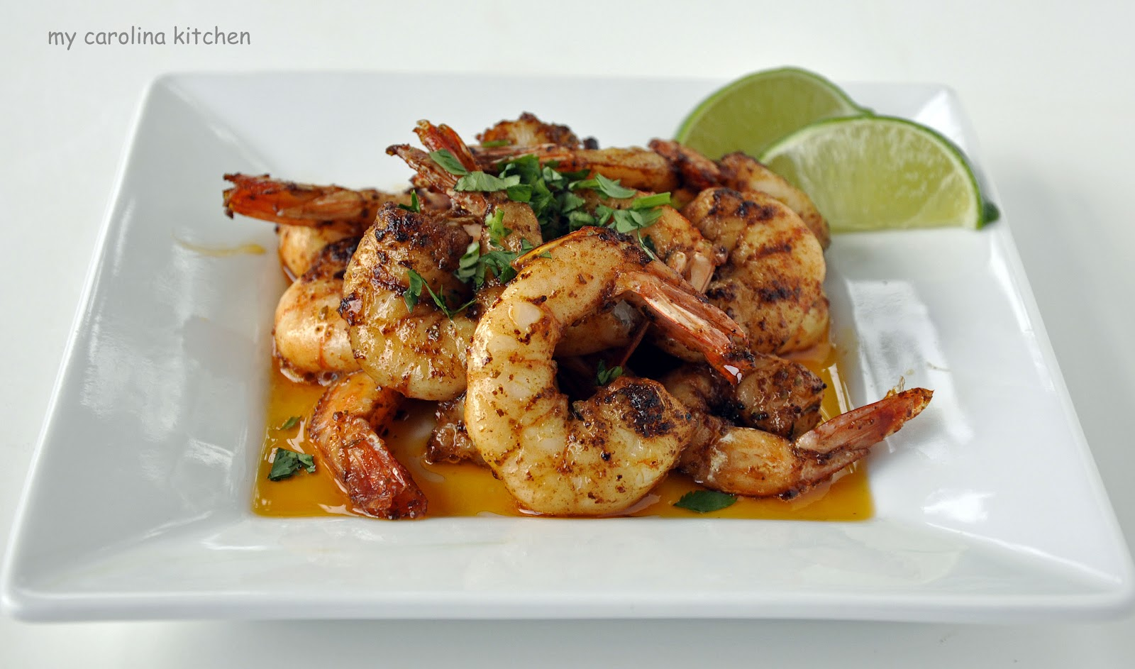 Spicy Shrimp – two ways to serve the same dish