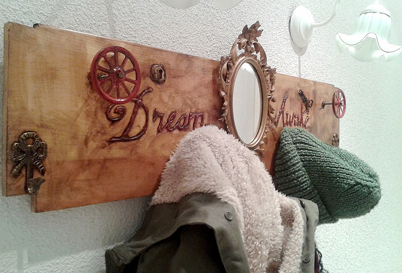 steampunk wallrack