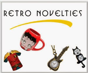 Funky Gifts, Retro Apparel, Decor, Toys